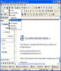 Atlantis Word Processor 3.3.3 Final + keygen