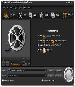 Bigasoft Total Video Converter 6.2.0.7269 + keygen