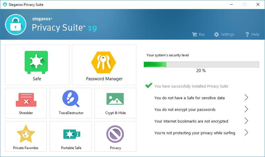 Steganos Privacy Suite incl Serial Key