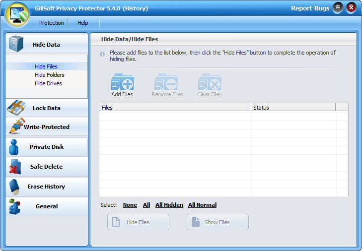 GiliSoft Privacy Protector with keygen download