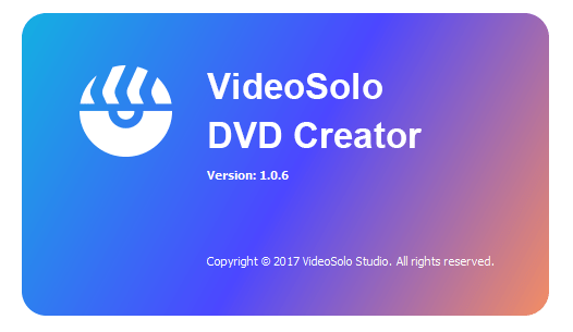 VideoSolo DVD Creator incl patch download