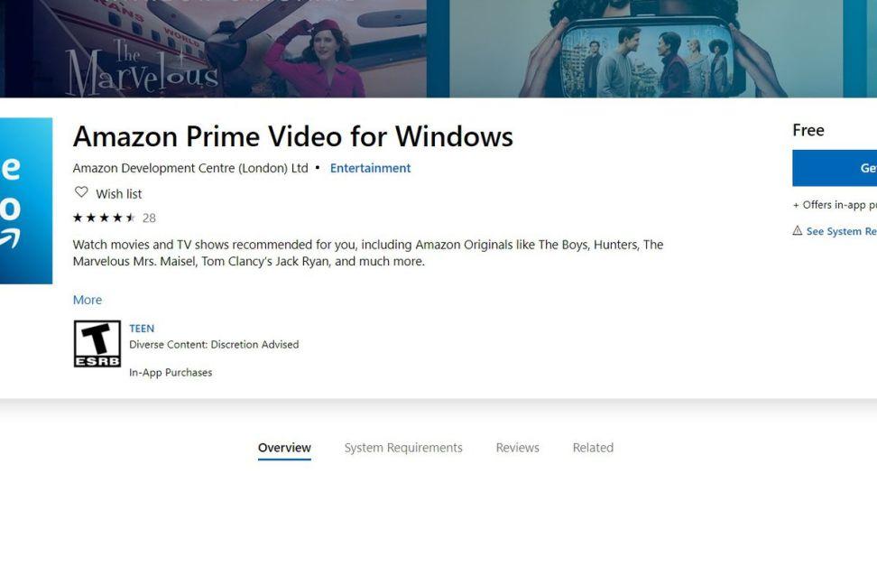Free Amazon Prime Download Premium 5.0.10.1102