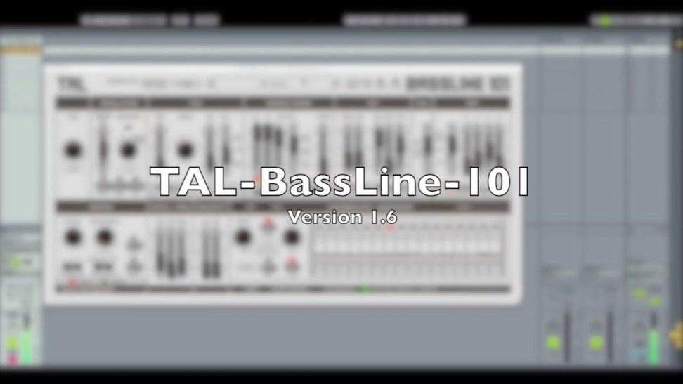 Togu Audio Line TAL-BassLine-101 v3.4.0