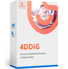 4DDiG crack with keygen