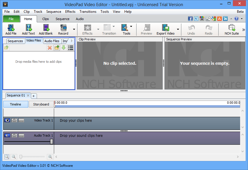 VideoPad Video Editor Pro incl Patch download