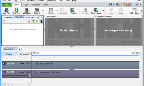 VideoPad Video Editor Pro incl Patch