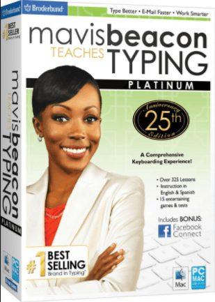 Mavis Beacon Teaches Typing Platinum 25 free