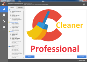 CCleaner Professional 5.75 Crack With Serial Key