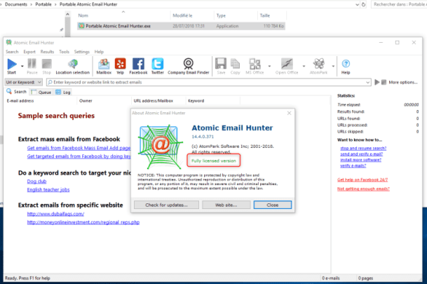 Atomic-Email-Hunter-Serial-Key