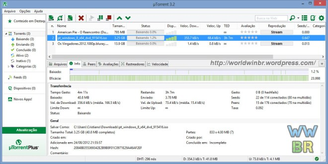 uTorrent 3.5.3 Beta 44484 Crack