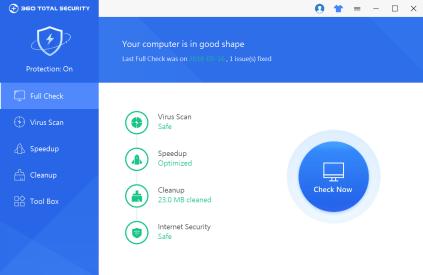 360 Total Security 10.2.0.1068 Crack