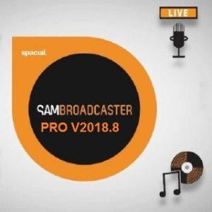 SAM Broadcaster PRO 2018.8 Crack