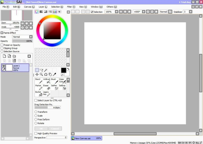 Paint Tool SAI Crack v2 Full Free Download [2020]