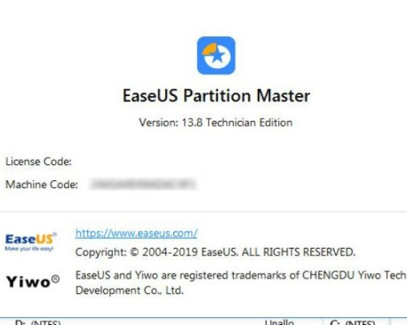 EaseUS Partition Master 14 Crack [Torrent] License Code 2020