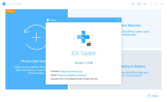 Apeaksoft iOS Toolkit Patch