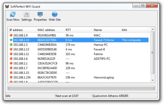 SoftPerfect WiFi Guard License Key