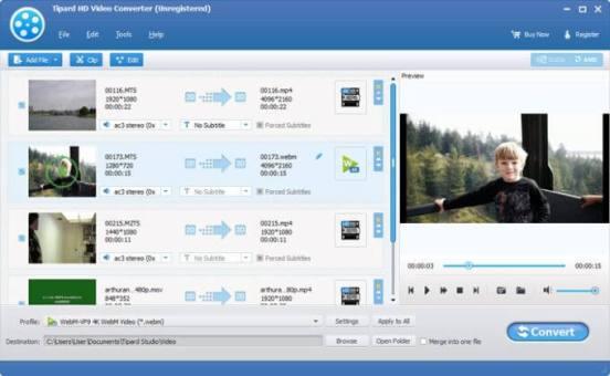 Tipard HD Video Converter Crack - Cracklink.info