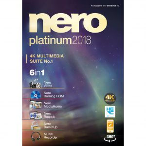 Nero 2018 Platinum Crack with Serial Key Free Download