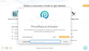 PhoneRescue 3.7 Crack With License Code Free Download