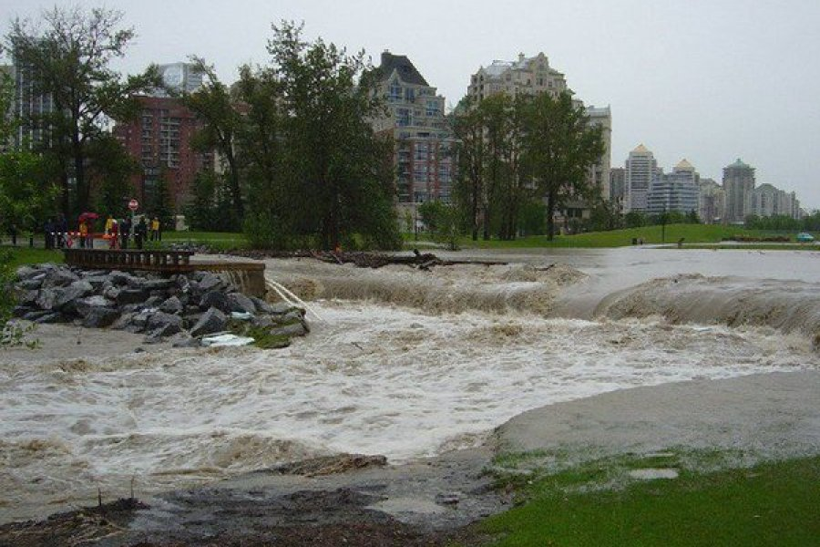 Flooding in Calgary
