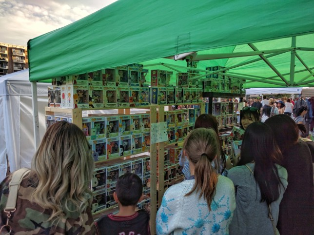 Calgary Night Market Funko pop