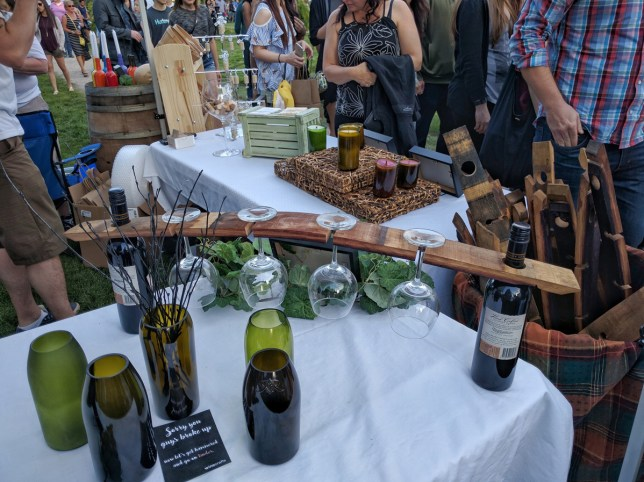 Calgary Night Market Wine holder