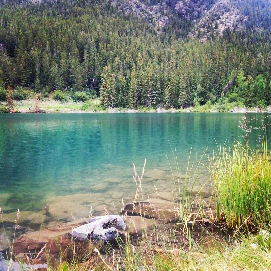 Fishing Around Calgary, Grotto Pond