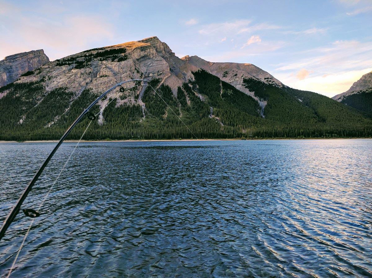 Fishing Around Calgary, Spray Lakes Reservoir