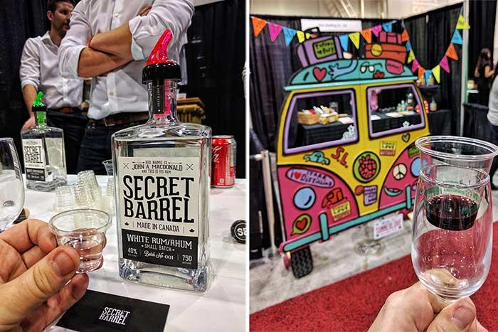 Secret Barrel and Starr Distilling at Grape Escape
