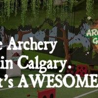 Calgary Archery Games – Shoot Your Friends With Arrows!