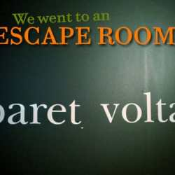 Prepare To Be A/Mazed by Cabaret Voltaire Escape Room