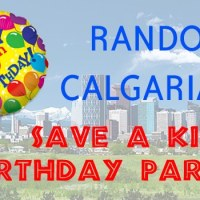 Group of random Calgarians saved a little boys birthday party