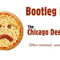 Bootleg Chicago Deep Dish Pizza in Calgary