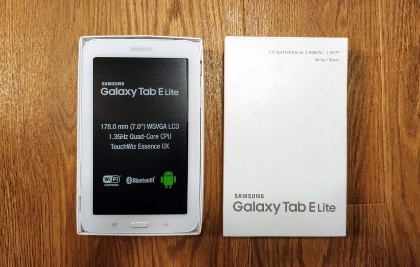 Samsung Galaxy Tablet E Lite Review