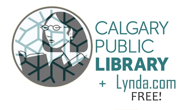 Get free Lynda com access with a Calgary Public Library card