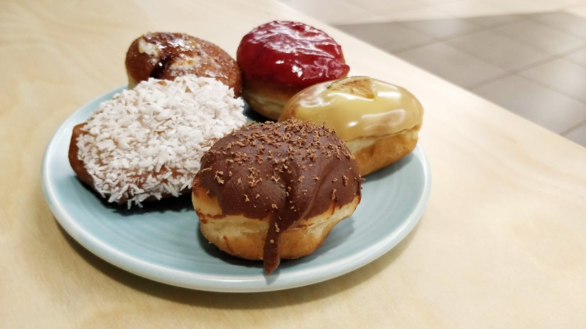 Hoopla Donuts donut plate