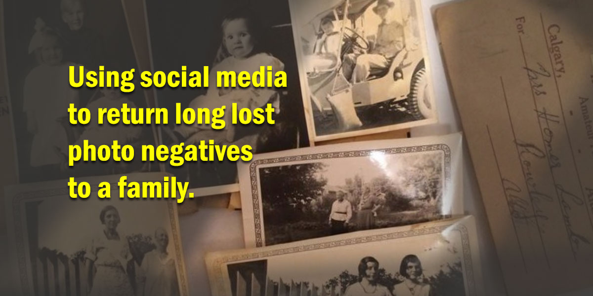 reuniting negatives with family