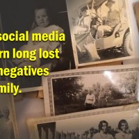 Using social media to reunite a family with long lost photos