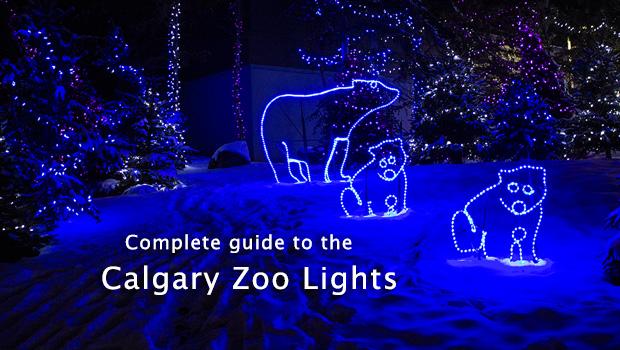 Zoo Lights Calgary Zoo