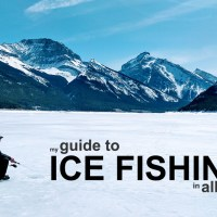 My Complete Guide to Ice Fishing in Alberta