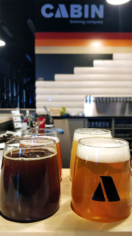 breweries in Calgary Cabin Brewing