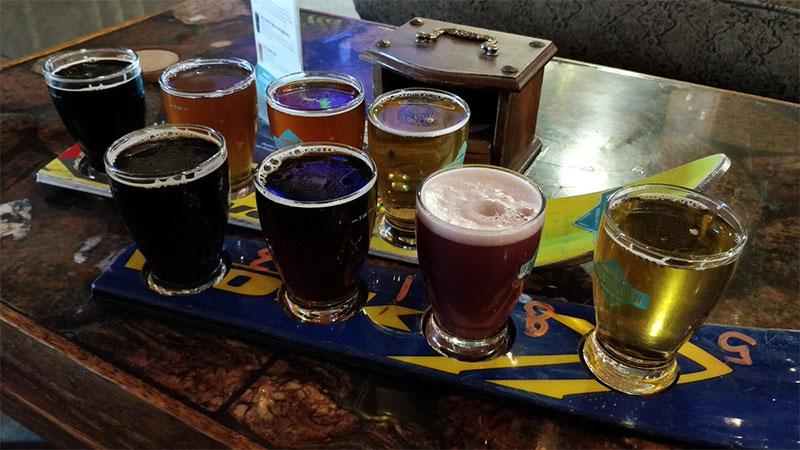 breweries in Calgary Cold Garden