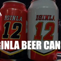 Cheers To Iggy! Limited Edition Iginla Beer Cans