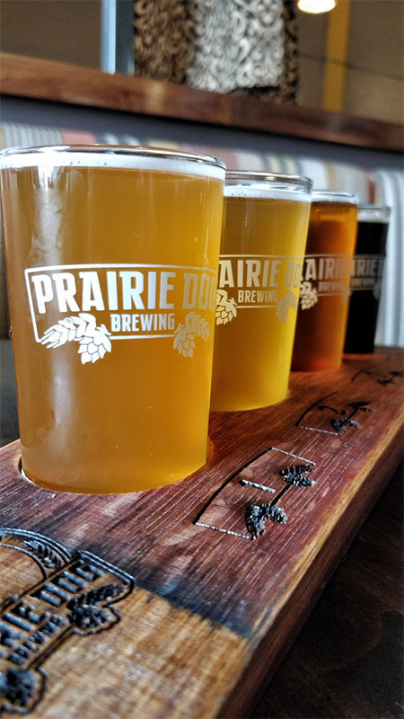 breweries in Calgary Prairie Dog Brewing beer