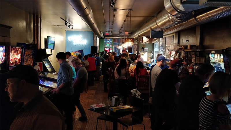 breweries in Calgary Revival brewcade