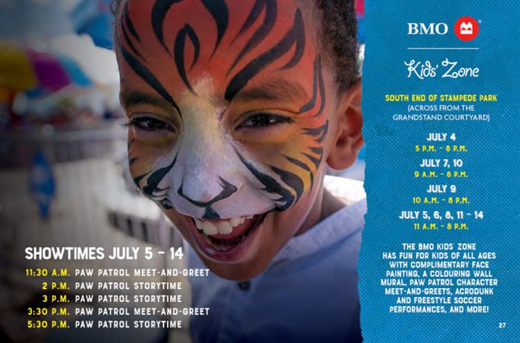 Calgary Stampede BMO Kids Zone