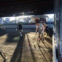 Calgary Bike Polo On Wednesdays