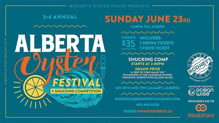 Alberta Oyster Festival 2019
