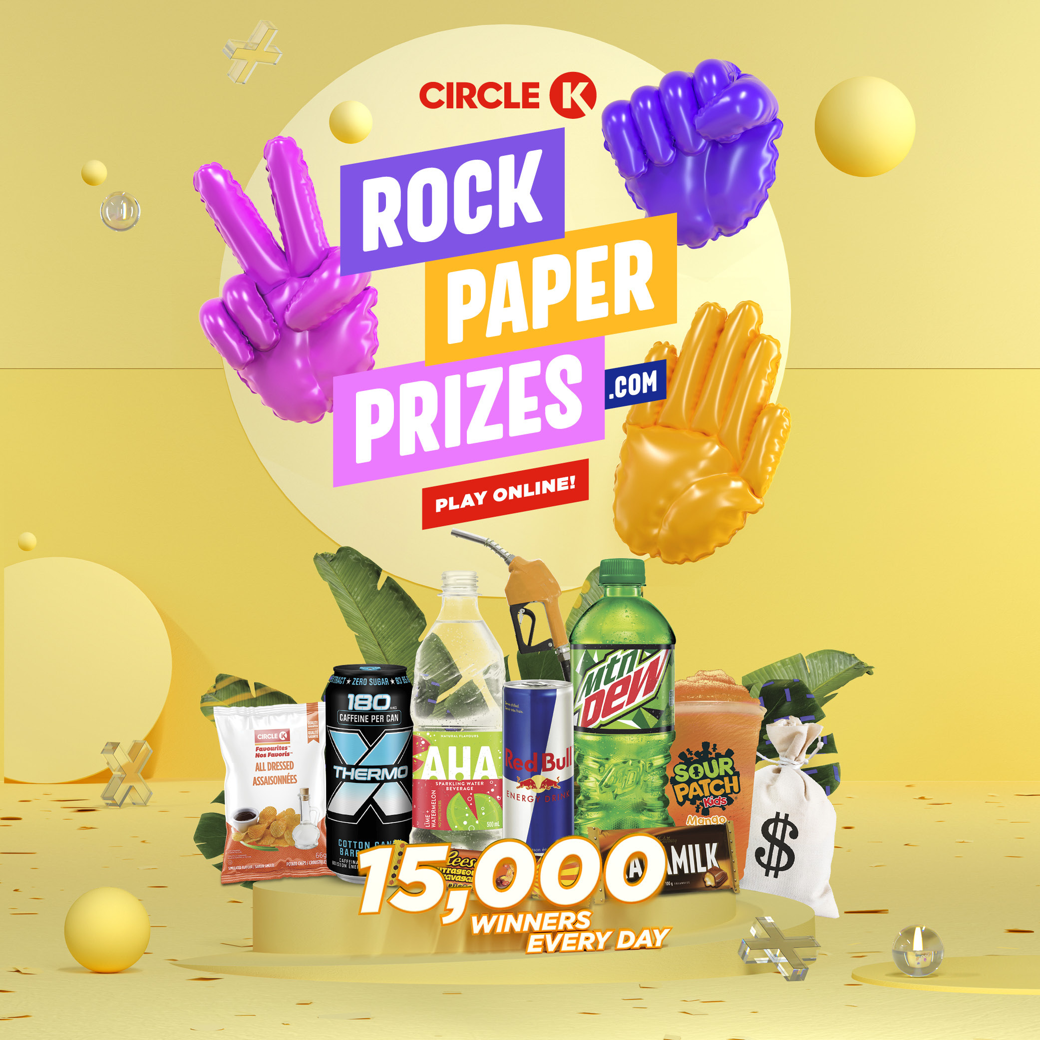 Rock paper prizes 2020