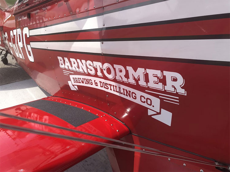 Wings Over Springbank Airshow Brent Handy Barnstormer